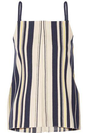 ZEUS + DIONE Kymi striped slub silk camisole