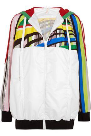 NO KA 'OI U'I printed shell jacket