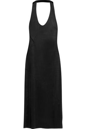 ATLEIN Open-back jersey midi dress