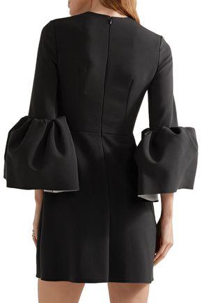 ROKSANDA Hadari fluted cady mini dress