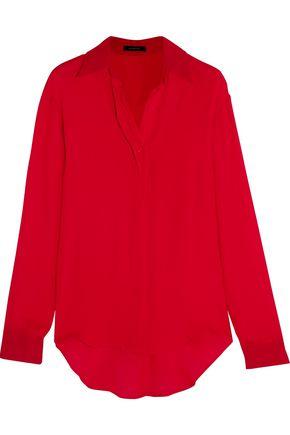 JUAN CARLOS OBANDO Silk crepe de chine shirt