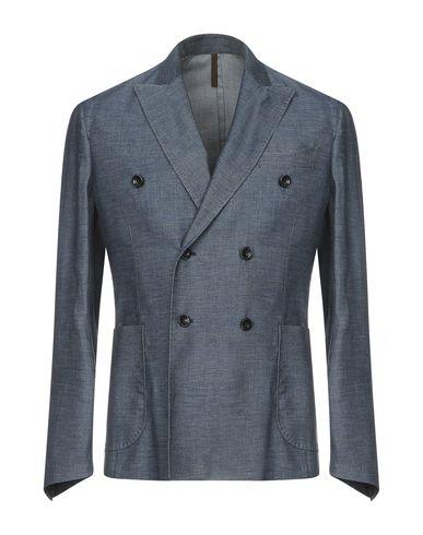 Фото - Мужской пиджак LABORATORI ITALIANI грифельно-синего цвета