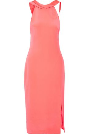 CUSHNIE ET OCHS Anna cutout silk-crepe midi dress