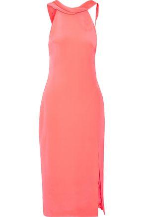 CUSHNIE ET OCHS Anna cutout silk-crepe midi dress