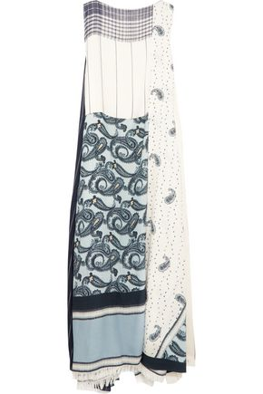 ACNE STUDIOS Dulcia Paisley paneled printed voile maxi dress