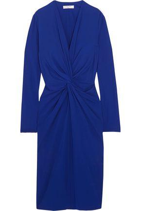 LANVIN Twist-front jersey dress