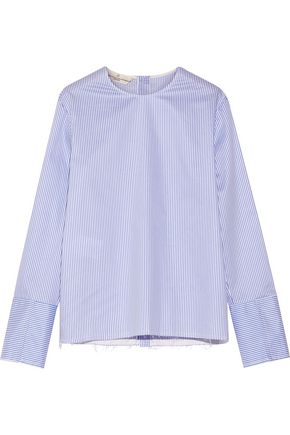 GOLDEN GOOSE DELUXE BRAND Striped cotton-poplin shirt