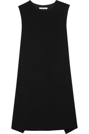 HELMUT LANG Tie-back crepe mini dress