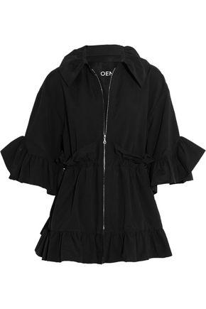 GOEN.J Ruffled cotton-blend jacket