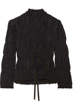 J.W.ANDERSON Plissé-satin jacket
