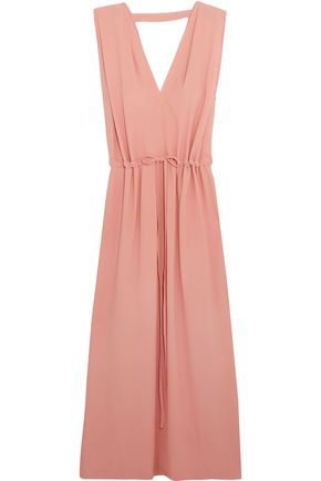 JIL SANDER Crepe maxi dress