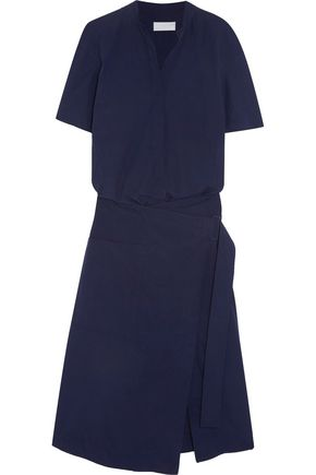 DKNY Cotton wrap dress