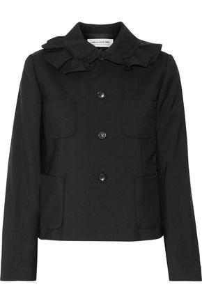COMME DES GARÇONS GIRL Ruffled wool-crepe jacket