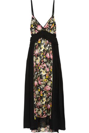 3.1 PHILLIP LIM Cutout floral-print silk midi dress
