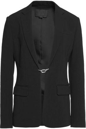 ALEXANDER WANG Chain-embellished crepe blazer