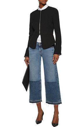 ALEXANDER WANG Crepe peplum jacket
