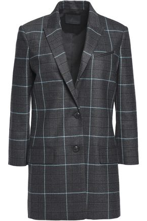 ALEXANDER WANG Checked wool blazer