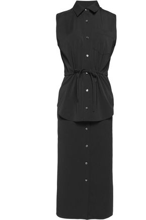 ALEXANDER WANG Crepe midi dress
