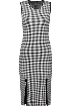 ALEXANDER WANG Intarsia-knit dress