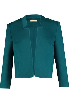MICHAEL KORS COLLECTION Wool and angora-blend jacket