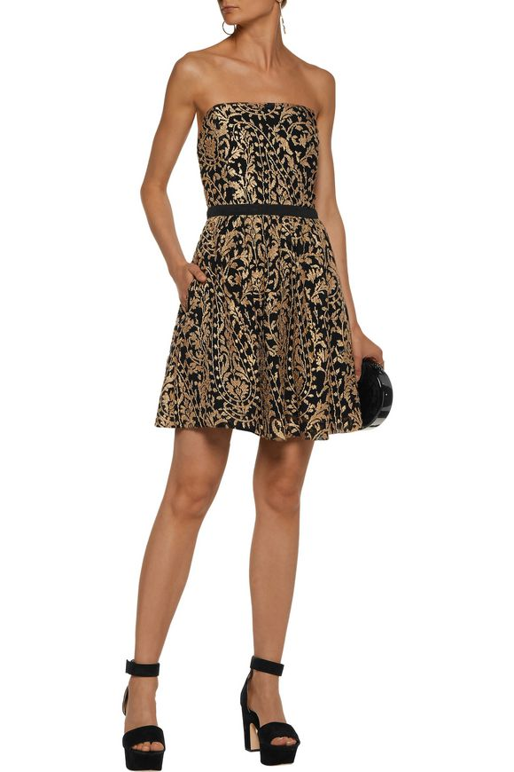Borough metallic embroidered gauze mini dress | JOIE | Sale up to 70% off |  THE OUTNET