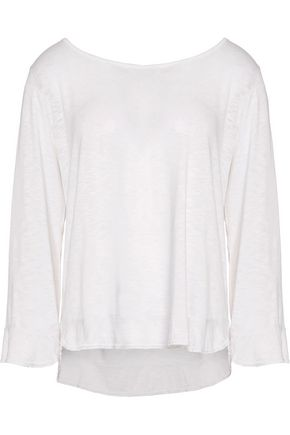VELVET by GRAHAM & SPENCER Cotton and modal-blend top