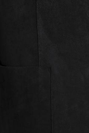 VELVET by GRAHAM & SPENCER Paneled faux suede jacket