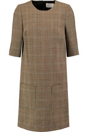 3.1 PHILLIP LIM Plaid wool mini dress
