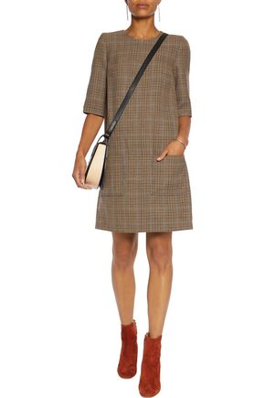 3.1 PHILLIP LIM Plaid wool mini dress
