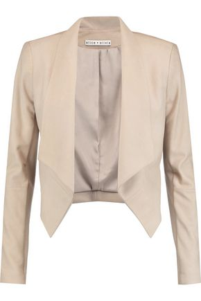 ALICE + OLIVIA Suede jacket