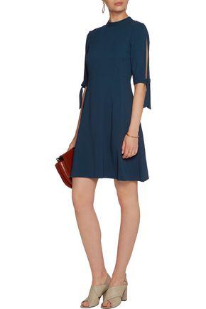 THEORY Alvilla stretch-crepe mini dress