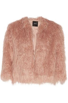 THEORY Elstana faux fur jacket