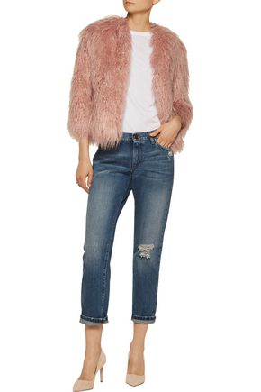 THEORY Faux fur jacket
