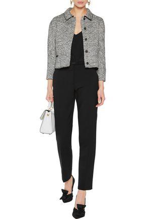 OSCAR DE LA RENTA Wool-blend bouclé-tweed jacket