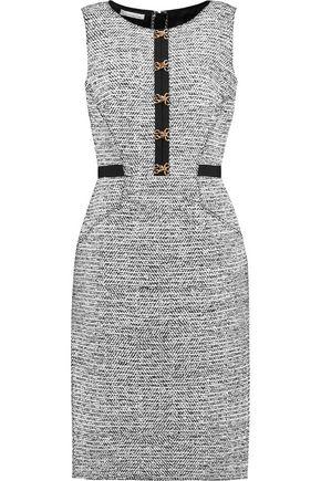 OSCAR DE LA RENTA Wool-blend tweed dress