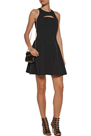 CUSHNIE ET OCHS Monica cutout stretch-knit mini dress