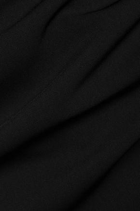 BADGLEY MISCHKA Off-the-shoulder cady mini dress