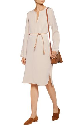 JOSEPH Reeve belted crepe dress