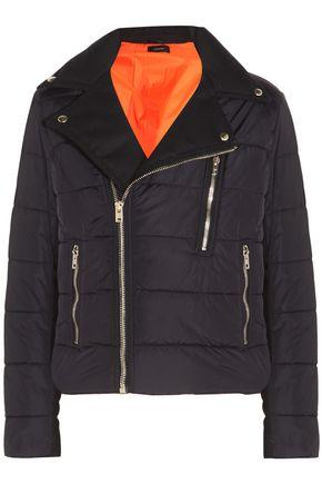 JOSEPH Darlington quilted twill-paneled shell jacket