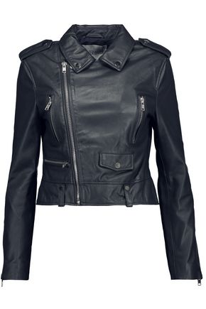 W118 by WALTER BAKER Hanna leather biker jacket