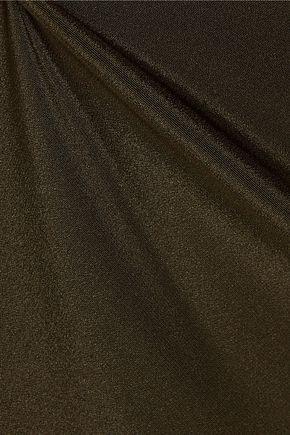 CUSHNIE ET OCHS Cutout silk-crepe midi dress