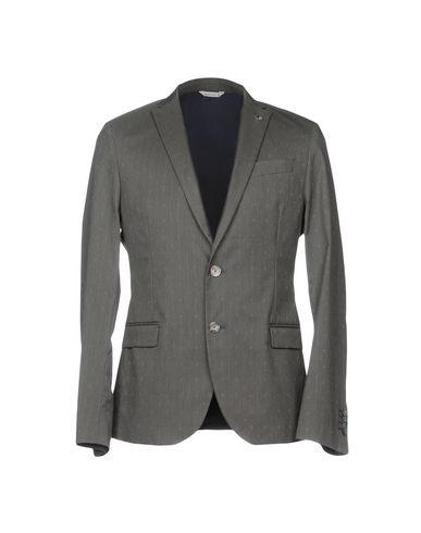 Фото - Мужской пиджак  свинцово-серого цвета