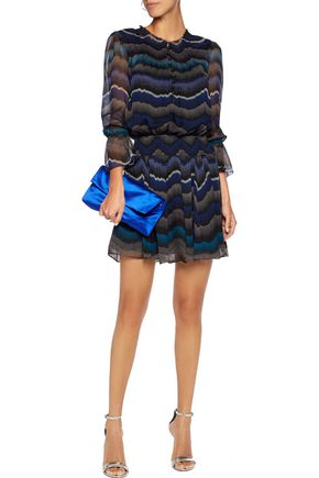 DIANE VON FURSTENBERG Kelley printed silk-chiffon mini dress