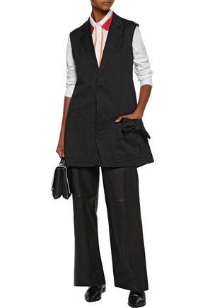Y-3 + adidas Originals asymmetric cotton-blend canvas vest