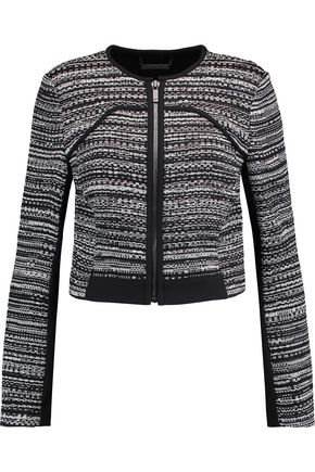 DIANE VON FURSTENBERG Caity embroidered cotton-blend jacket