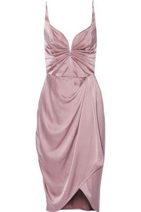 ZIMMERMANN Draped washed-silk dress