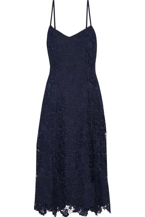ALICE + OLIVIA Naomi guipure lace dress