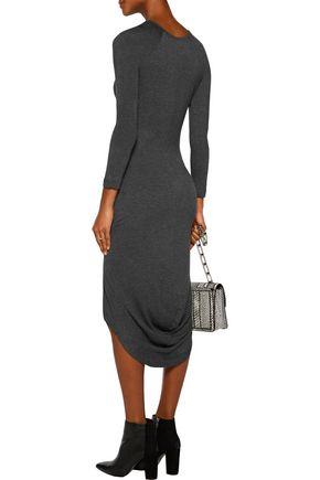 KAIN Freje color-block asymmetric stretch-modal jersey dress