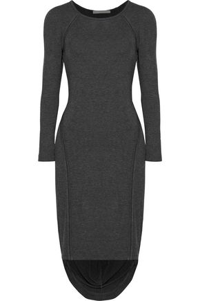 KAIN Freje color-block asymmetric stretch-modal jersey dress