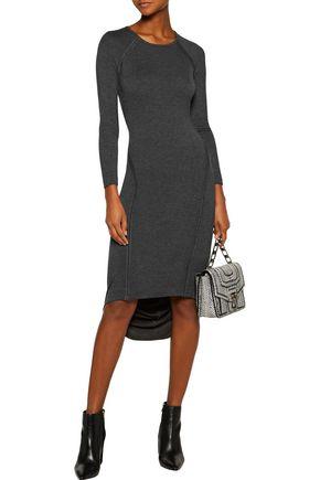 KAIN LABEL Freje color-block asymmetric stretch-modal jersey dress